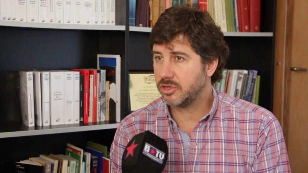 Matías Cremonte, reelegido por los laboralistas