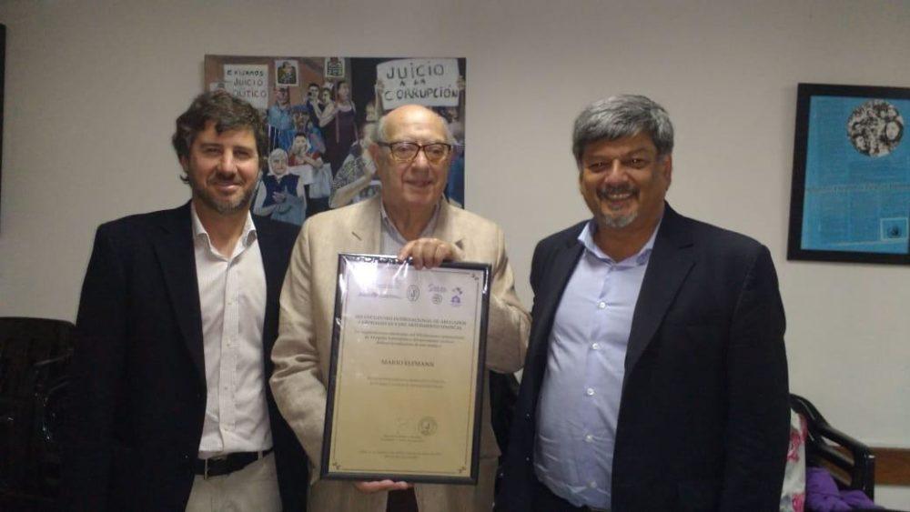 Reconocimiento al Dr. Mario Elffman