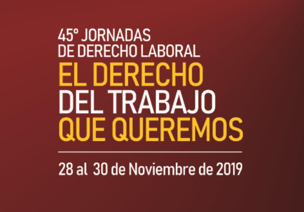 Jornadas 2019: una cita obligada