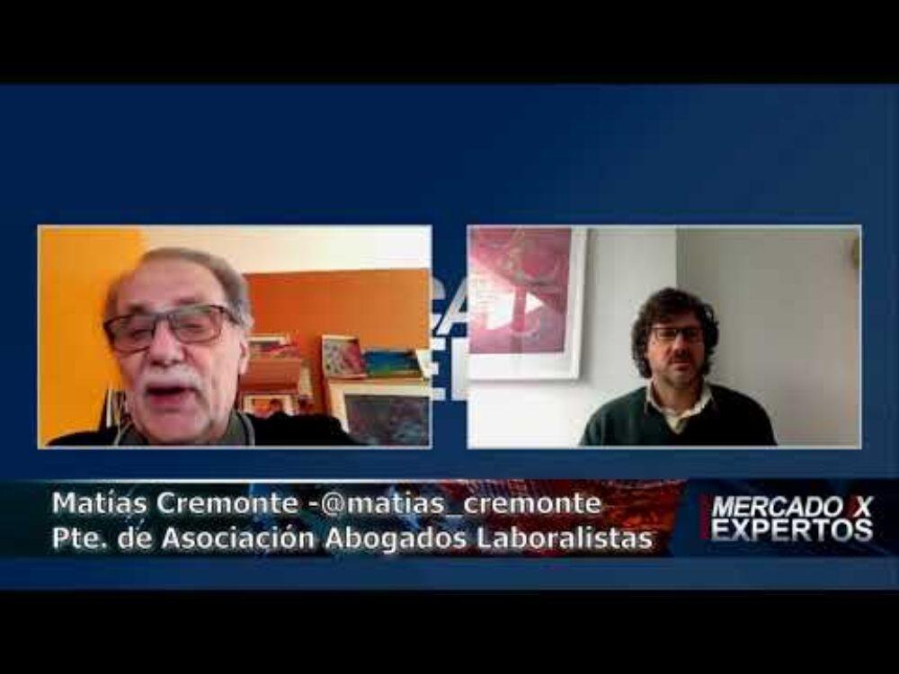 Ismael Bermúdez entrevista a Matías Cremonte
