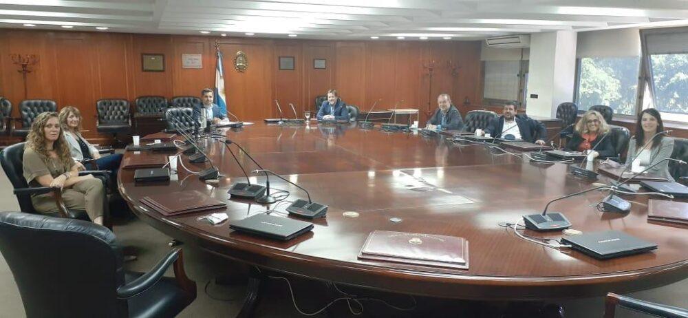 AAL se reunió con el presidente del Consejo de la Magistratura
