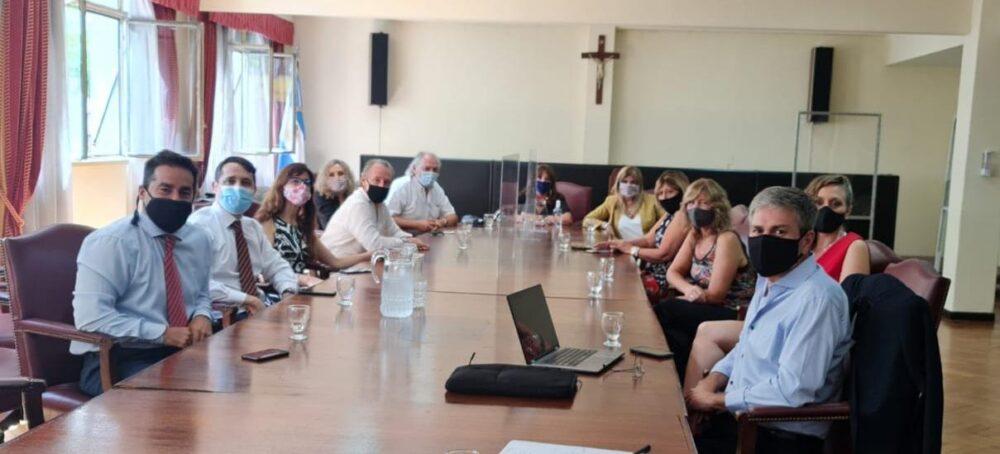Nueva reunión con las autoridades de la CNAT