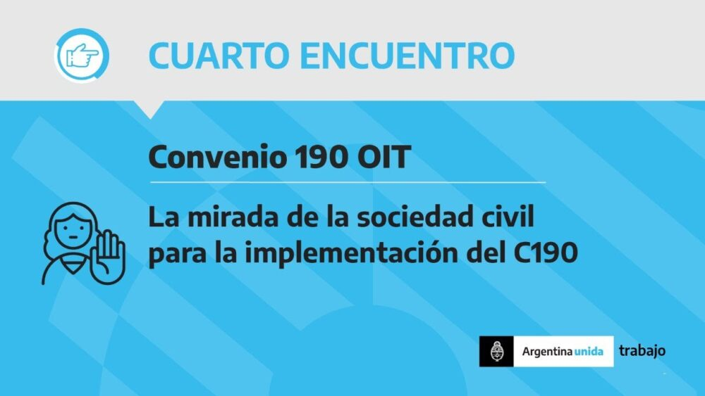 «La mirada de la sociedad civil para la implementación del Convenio OIT 190»