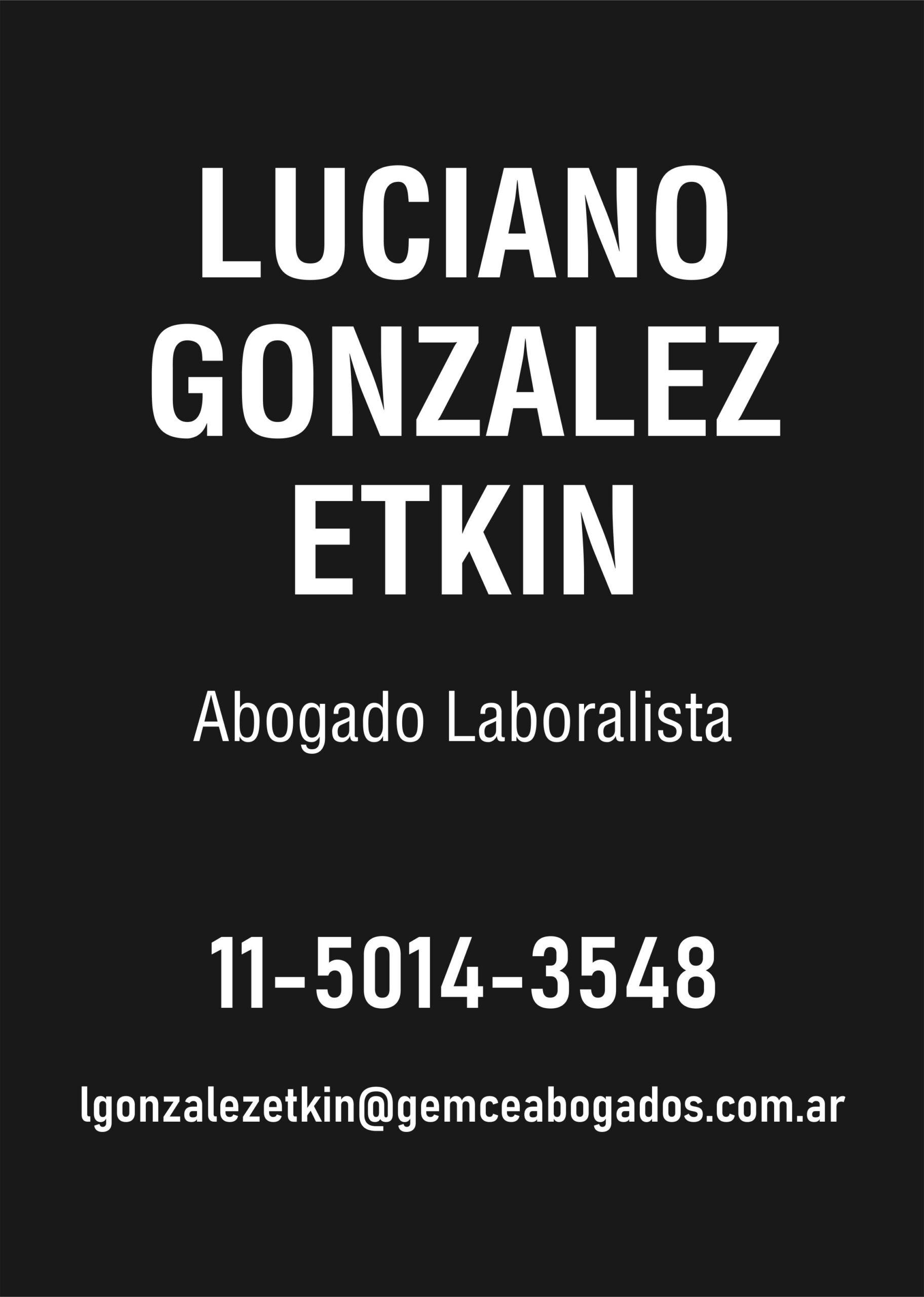 Gonzalez Etkin